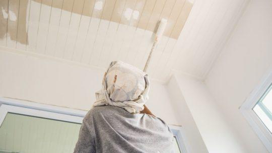Shine dit hjem op med nymalede lofter